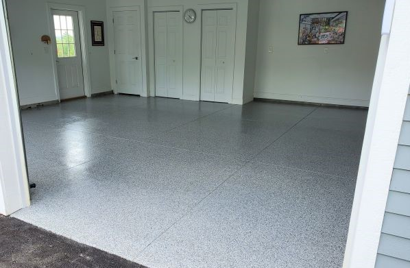 garage floor polyaspartic polyurea coating