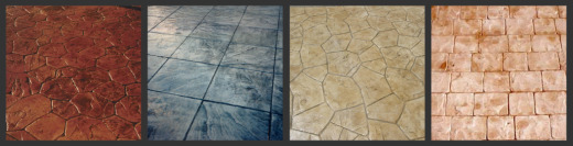 stamped concrete designs