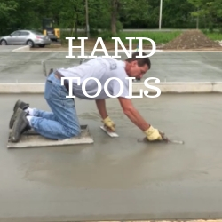 Concrete hand tools