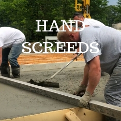 Concrete Hand Screeds