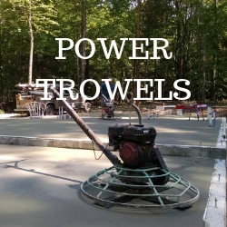 Power trowels
