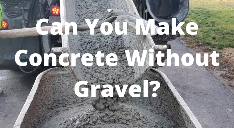 concrete without gravel