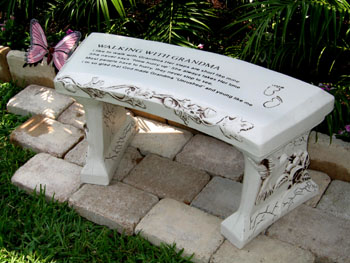 Awesome Concrete Benches   The Different Styles And Where To Buy Concrete Garden  Benches