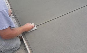 Concrete hand groover