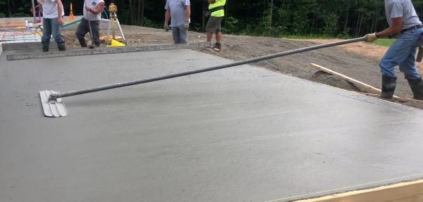 How to pour a concrete ramp