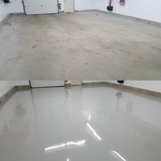 Epoxy Sealer With Urethane Top Coat