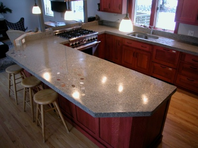 Concrete Countertops   Learn About Building, Polishing, Sealing And More.