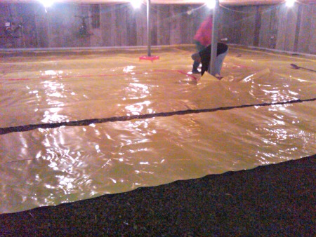Concrete Vapor Barrier What Is A Vapor Barrier And Do I Need One - Best flooring for moist basement