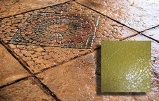 mosiac tile concrete stamp