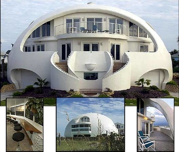 Domed Concrete Homes Can Be Built At Ground Level, Underground, Or  Earth Bermed. They Can Be Built In Virtually Any Location And Environment. Nice Look