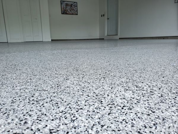 Best paint for a garage floor