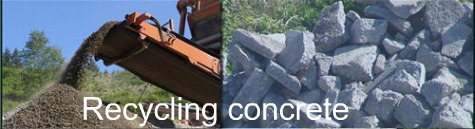 green concrete materials