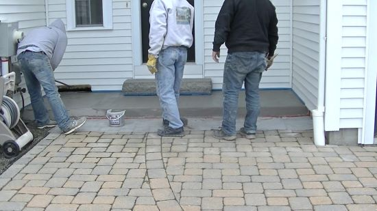 How to resurface a spalled concrete patio