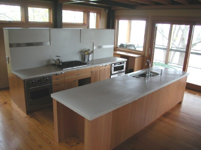 Finishing Concrete Countertops How To Polish A Concrete