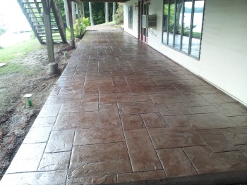 If Youu0027re Like Me, You Like Your Stamped Concrete Looking New, Clean, And  Either Shiny Or With More Of A Matte Finish.