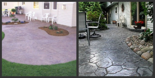 Stamped Concrete Patios - Design Tips For A Stamped Concrete Patio