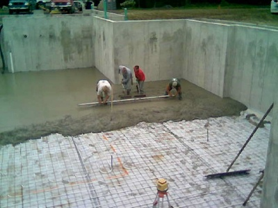 concrete floors are what i do on a daily basis except for some slack
