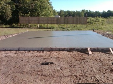 Pouring A Concrete Slab How To Pour A Concrete Slab From Start To Finish