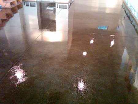 How To Stain Concrete Floors A Step By Step Guide On How