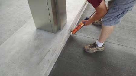 How To Caulk A Concrete Expansion Joint