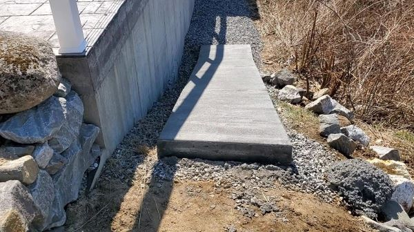 How to form, pour, and finish a concrete ramp