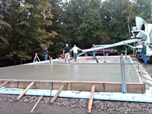 Learn how to install a concrete slab