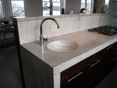 Finishing Concrete Countertops