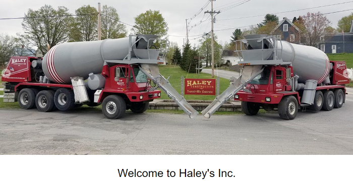 Ready mix concrete supplier in Maine