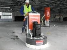 Walk behind concrete floor grinder