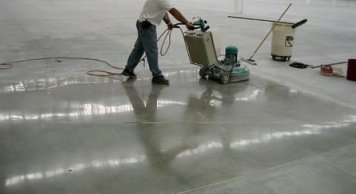 How To Polish Concrete The Steps It