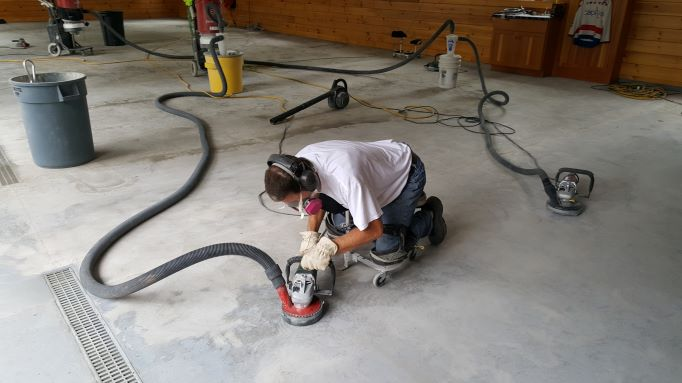 How to prep a garage floor for an epoxy coating