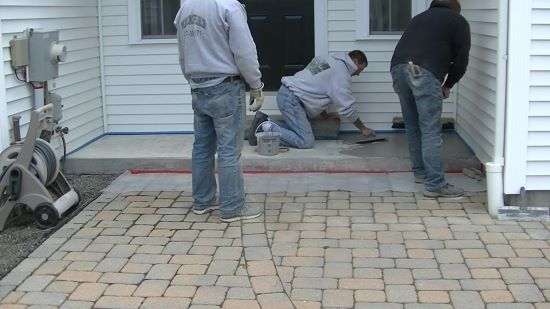 How to repair spalled concrete patios and driveways